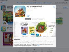 Små HC Andersen bøger, køb i app