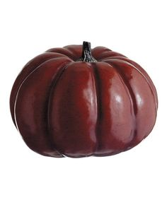 Take a look at this Red Wide Pumpkin by Allstate Floral & Craft on #zulily today!