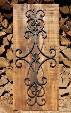Decorative Rustic Wall Art by LooneyBinTradingCo on Etsy: