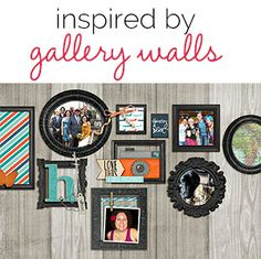 Scrapbooking Ideas Inspired by Gallery Walls | Get It Scrapped