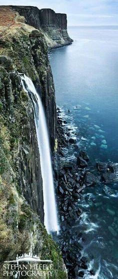 Kilt Rock Falls Scotland