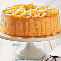 Lemon angel food cake dessert recipe