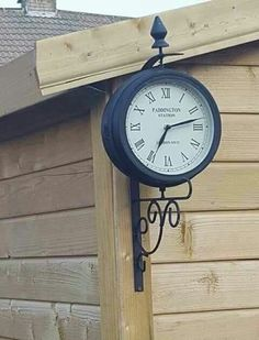 Indoor And Outdoor Clock