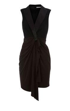 Karen Millen draped tuxedo dress