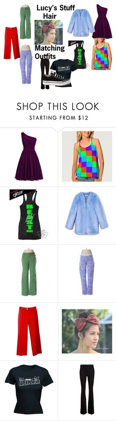 """Lucy's Stuff"" by mina-taylor ❤ liked on Polyvore featuring THP, LOFT, Levi's, St. John, Frame Denim and Converse"
