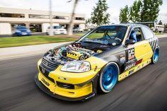 #Honda #Civic #Ek #Modified