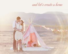 and let's create a home...