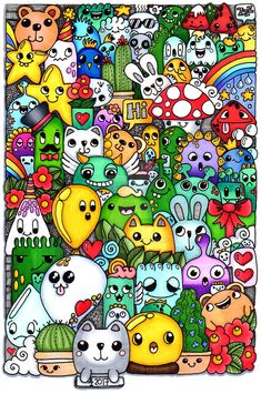 More things from hampton art and coloured doodle art design Cute Doodle Art, Doodle Wall, Doodle Art Designs, Doodle Art Drawing, Cool Doodles, Kawaii Doodles, Art Drawings, Graffiti Doodles, Graffiti Drawing