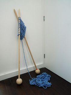 Big needles. @DeAnn Baitinger
