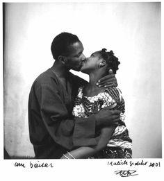 Un baiser, Malick Sidibé 2001