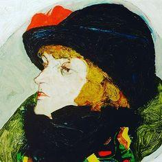 Egon Schiele, Portrait of Ida Roessler, 1912 #vienna #womeninart #beauty #style #idaroessler #schiele #egonschiele