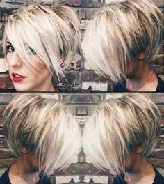 Today we have the most stylish 86 Cute Short Pixie Haircuts. We claim that you have never seen such elegant and eye-catching short hairstyles before. Pixie haircut, of course, offers a lot of options for the hair of the ladies'… Continue Reading → Long Pixie Hairstyles, Short Pixie Haircuts, Hairstyles Haircuts, Short Hair Cuts, Cool Hairstyles, Short Hair Styles, Haircut Short, Curly Short, Blonde Short Hair Pixie