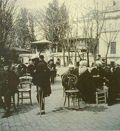 Küllük bahçesi Beyazıt 1900's. IstanbulTurkey.