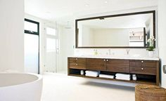 Rectangular Bathroom Mirrors Contemporary Style  Decorative Bathroom Mirrors Check more at http://www.bonsaikc.com/decorative-bathroom-mirrors/