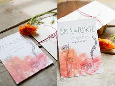 Convites de Casamento desenhados à mão: sugestões românticas e surpreendentes feitas à sua medida! Image: 10