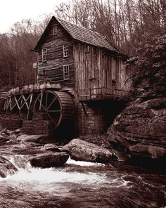 gristmills   Gallery > Sondra Kicklighter > Photos > West Virginia > Old Grist Mill