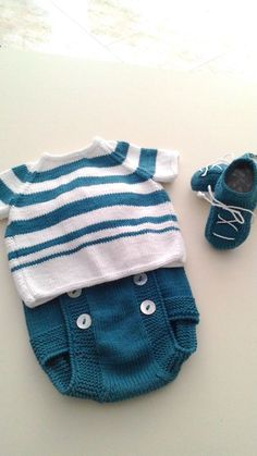 43 ideas crochet bebe varon patrones for 2019 43 ideas crochet bebe varon patrones for 2019 Baby Knitting Patterns, Love Knitting, Knitting For Kids, Crochet For Kids, Knit Baby Sweaters, Knitted Baby Clothes, Baby Boy Outfits, Kids Outfits, Knit Art