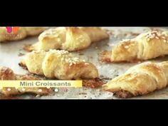 La chef Anna Olson enseñara como preparar diferentes tipos de croisants como Masa de croisants suave Croissants tradicionales clasicos como almendra,queso y ...