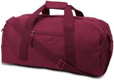 Large Square Duffel [Cardinal] Case Pack 12