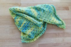 Staggered Holes Baby Blanket Knitting Pattern at Hands Occupied