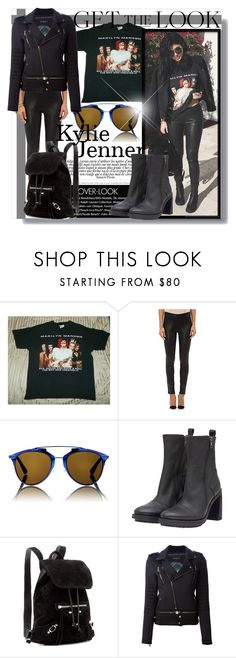 """""""Kylie Jenner - Get The Look!"""" by isabeldizova ❤ liked on Polyvore featuring J Brand, Christian Dior, Ann Demeulemeester, Balenciaga, Ports 1961, GetTheLook, StreetStyle, black and KylieJenner"""