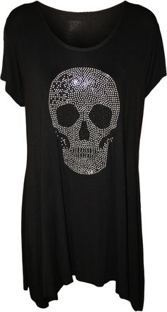 Plus Size Skull Hoodies | Clothing, Shoes, Accessories > Women's Clothing > Tops & Blouses