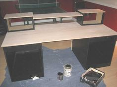 Nice Diy Desk Projects - Put the two together, and you've got a desk it's possible to assemble in beneath a minute. Whenever you're taking a... http://zoladecor.com/diy-desk-projects