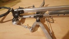 Spring powered crossbow#DIY Armmbust mit Feder bye MoGue