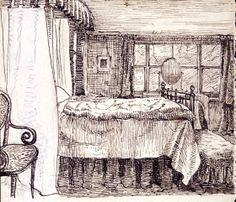 Bedroom: Beatrix Potter