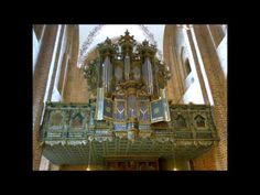 Dietrich Buxtehude Prelude and Fugue in F sharp minor BuxWV 146, Bernard Foccroulle Organ of St. Mary Church in Helsingor, Denmark