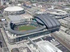 Kingdome and Safeco Field, 1999 | Flickr - Photo Sharing!