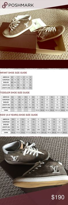 Louis Vuitton Kids Casual Shoes Boys Casual Shoe Louis Vuitton Shoes Sneakers