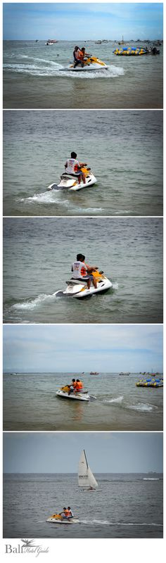 Jet skis are part water skiing device and part speedboat, with some elements of riding a motorcycle. Much like a motorcycle, acceleration in a jet ski is provided by a hand powered throttle located on the right side grip. Click on the link to book online. http://www.balihotelguide.com/ThingstoDo.aspx?f5726b14f=aa90e605=131  #balihotelguide #activities #jetski #travel #balitours #adventure #event #balientertainment #balipackages #balitraditional #balitransport #ceremony #celebration #bali
