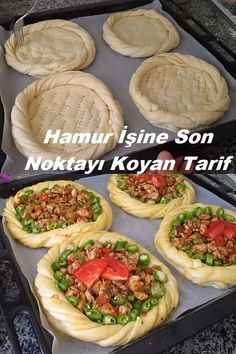 Turkish Recipes, Ethnic Recipes, Turkish Kitchen, Middle Eastern Dishes, Bread And Pastries, Baking Tips, Creative Food, Amazing Cakes, Pasta Recipes