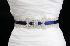 Silk ribbon is an increment in its beauty and bridal be clad in this belt will out class every fashion accessory. Description from trendymods.com. I searched for this on bing.com/images