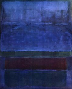 Mark Rothko, Untitled [Blue, Green, and Brown], 1952