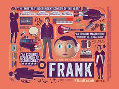 Frank - movie poster - Scott Woolston