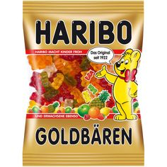 The No. 1 of Haribo in the confectionery shelf are the Haribo Gummy Bears…