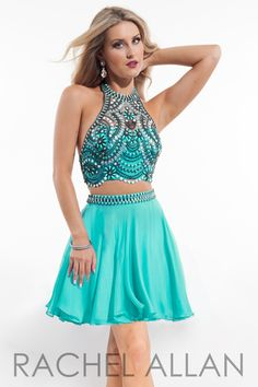 Rachel Allan 4175 Jade Homecoming Dress
