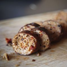 Homemade Sundried Tomato & Pine Nut Seitan Sausages {vegan}
