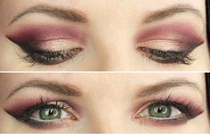 [Tutorial] Smoky Cranberry Eyes w/ Kat Von D MetalMatte #styled247