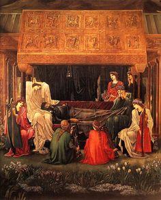 Edward Burne-Jones -The Last Sleep of Arthur in Avalon