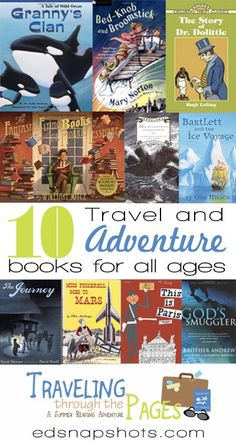 Ten Travel and Adventure Books for All Ages