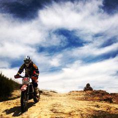 Enduro trails at Afriski