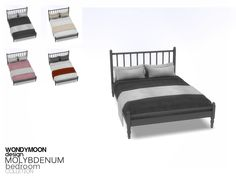 - Molybdenum Bedroom - Bed Blanket Found in TSR Category 'Sims 4 Miscellaneous Decor' Resource Furniture, Sims 4 Cc Furniture, Black Furniture, Living Furniture, Bed Furniture, Furniture Dolly, Furniture Vintage, Kitchen Furniture, Furniture Ideas