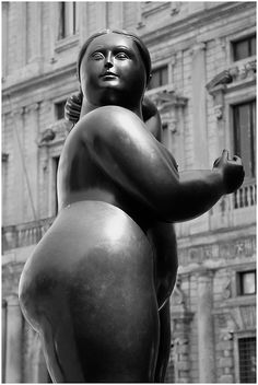 botero Look at her FACE, quite noble..and a beautiful physicality