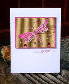 My Perfect Heaven: Clearly Besotted Stamps - Dragonfly Die