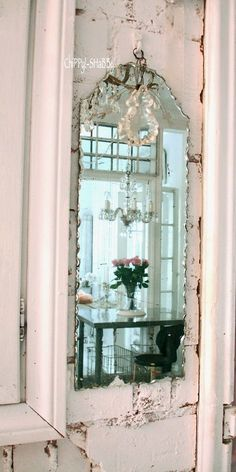 #Looking for some creative #shabby #chic mirror ideas -  http://www.myshabbychicstore.com