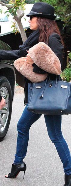 Eva Longoria's casual style