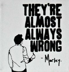 Morley.  He's right.